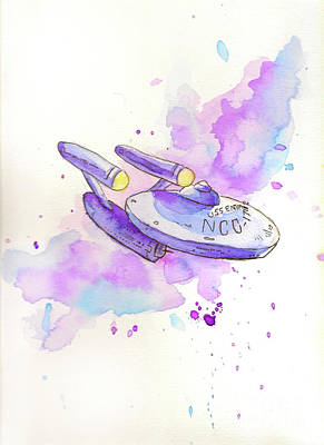 Painting - The Enterprise by Whitney Morton