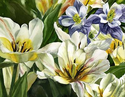 Painting - The Essence Of Spring by Alfred Ng