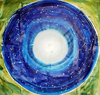 The Eternal Circle Art Print by Baljit Chadha