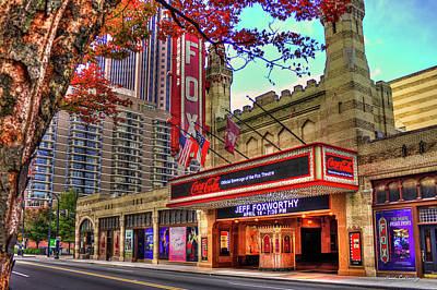 Photograph - The Fabulous Fox Theatre Atlanta Georgia Art by Reid Callaway