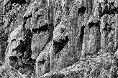 Photograph - The Faces Of Gorman Falls by JC Findley