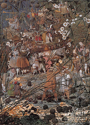 Very Painting - The Fairy Feller Master Stroke by MotionAge Designs