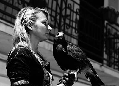 Photograph - The Falconers by Andrea Mazzocchetti
