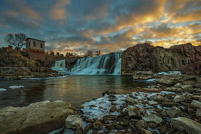 Photograph - The Falls  by Aaron J Groen