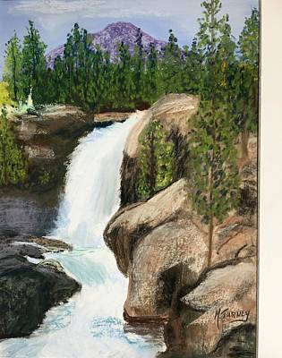 Pastel - The Falls by Michele Turney