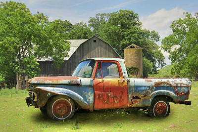 Photograph - The Farm Truck by Lori Deiter