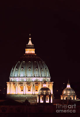 Basilica With Dome Photograph - The Father Of All Domes II by Fabrizio Ruggeri