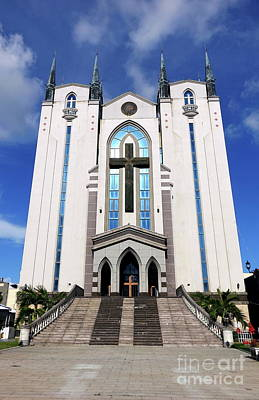 Photograph - The Fengshan Presbyterian Church In Taiwan by Yali Shi