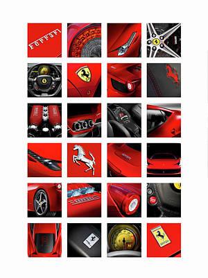 Photograph - The Ferrari 458 Italia by Mark Rogan