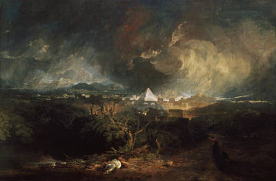 Joseph Painting - The Fifth Plague Of Egypt by JMW Turner