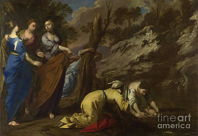 Painting - The Finding Of Moses by Celestial Images