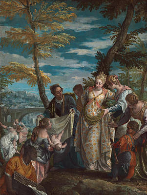 The Finding Of Moses Art Print by Paolo Veronese