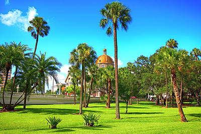 Photograph - The First Baptist Church Of Tampa  by Chris Smith