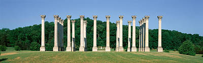 Columns Photograph - The First Capitol Columns Of The United by Panoramic Images