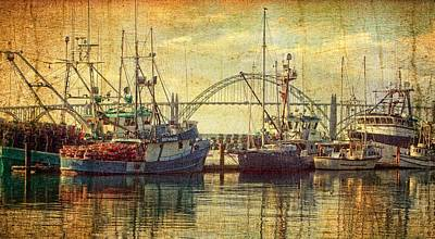 Photograph - Fishing Fleet  by Thom Zehrfeld