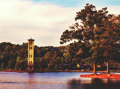 Furman Photograph - The Florentine Carillon Bell Tower - Furman University by Library Of Congress