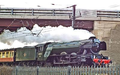 Photograph - The Flying Scotsman by John Bailey Photos