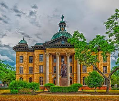 The Fort Bend County Courthouse Art Print by Mountain Dreams