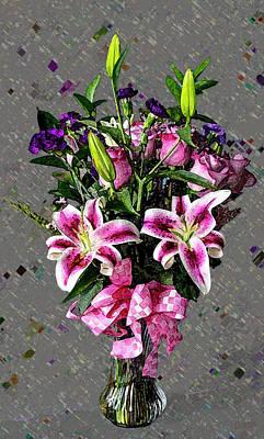 Photograph - The Friendship Bouquet by David Pantuso