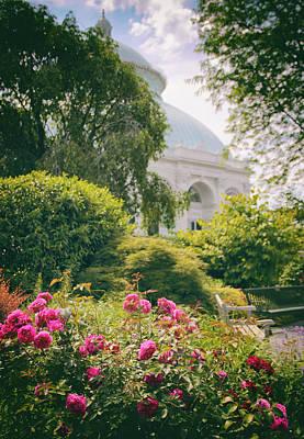 Photograph - The Garden Conservatory by Jessica Jenney