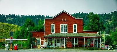 Aladdin Photograph - The General Store by Mountain Dreams
