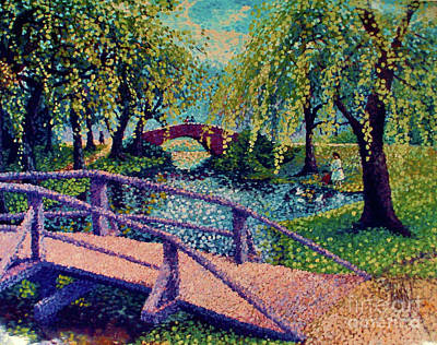 The Girl In The Park Original by Dorothy Hilde