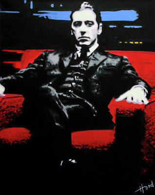 Johnny Fontane Painting - The Godfather by Ludzska Hood