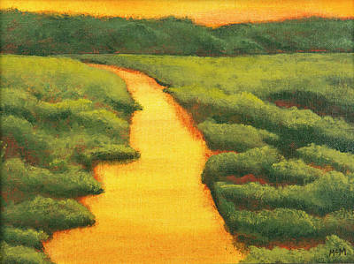 Painting - The Golden Hour by Garry McMichael