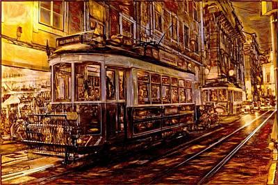 The Golden Tram  Original