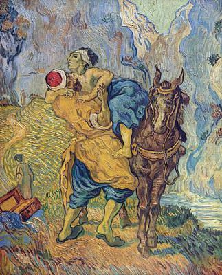 The Good Samaritan After Delacroix, 1890 Art Print