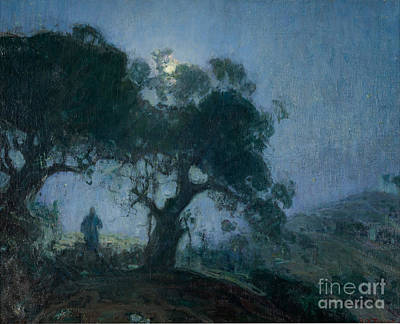 Painting - The Good Shepherd by Henry Ossawa Tanner