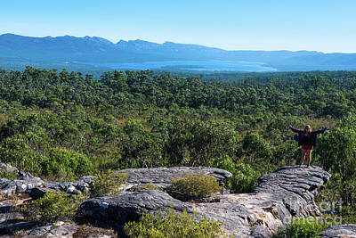Photograph - The Grampians  by Andrew Michael