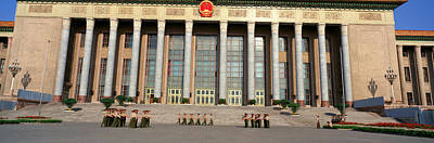 Assembly Hall Photograph - The Great Hall Of The People by Panoramic Images