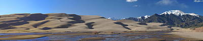 Photograph - The Great Sand Dunes by Bj Hodges