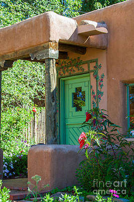 Photograph - The Green Door by Jim McCain
