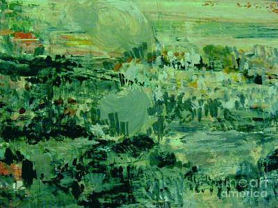 Painting - The Green Valley by Nancy Kane Chapman