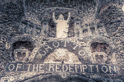 The Grotto Of The Redemption Art Print by Art Spectrum