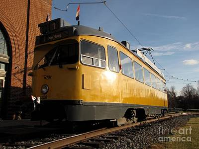 Pcc Photograph - The Hague Streetcar 1329 by Ben Schumin