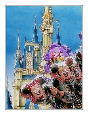 Disney Photograph - The Happiest Place On Earth by Kenneth Krolikowski