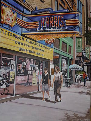 Painting - The Harris Theater by James Guentner