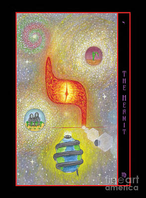 The Hermit Card Original