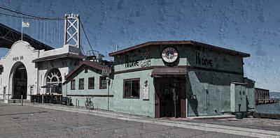 Entrance Door Photograph - The Hi Dive Of San Francisco by L O C
