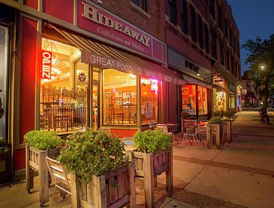 Photograph - The Hideaway Coffee Shop by Joe Miller
