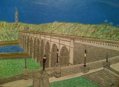 The Highbridge Art Print by John Cunnane
