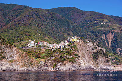 Photograph - The Hilltop Town Of Corniglia by Rod Jones