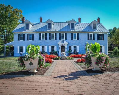 Photograph - The Homestead Birthplace Of Milton Hershey by Mark Dodd