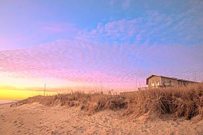 Photograph - The House On The Beach by John Harding