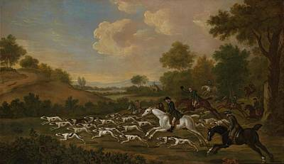 Crying Painting - The Hunt In Full Cry by Francis