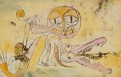 Drawing - The Hypocrites by Paul Klee