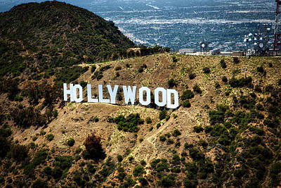 The Iconic Hollywood Sign Art Print by Mountain Dreams